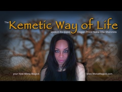 The Kemetic Way of Life spoken by a Dogon Priest