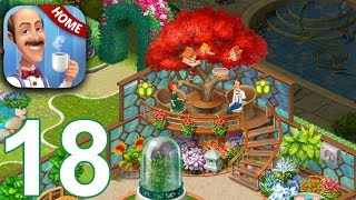 HOMESCAPES Story Walkthrough Gameplay Part 18 - Day 15 (iOS Android)