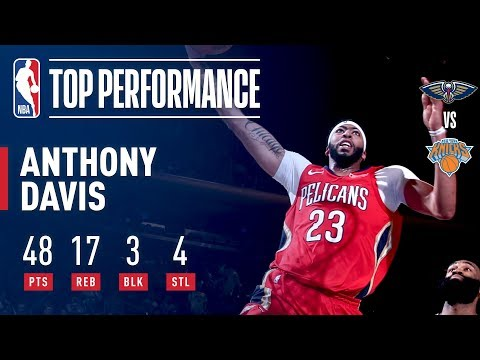 Xxx Mp4 Anthony Davis Throws Up 48 Pts In An OT Win At MSG January 14 2018 3gp Sex