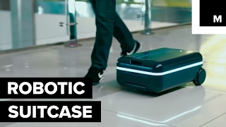 Have your suitcase follow you through the airport