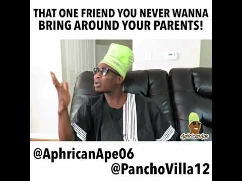 AphricanApe - Over Ambitious Friend! [ Skit ]