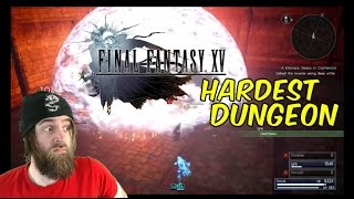 Hardest Dungeon in the Game (Lv. 99, No Items)   FINAL FANTASY XV - Gameplay [#05]