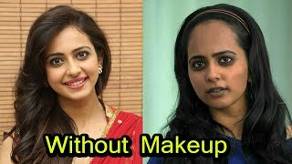 South Indian Actress With and Without Make Up | Shocking Looks