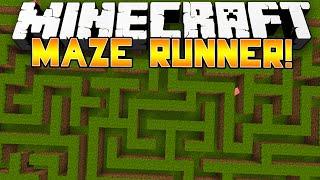 Minecraft 1.8: MAZE RUNNER PARKOUR! - w/Preston & Kenny!