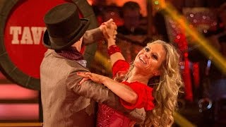 Kellie Bright and Kevin Clifton Viennese Waltz to 'Oom Pah Pah' - Strictly Come Dancing: 2015