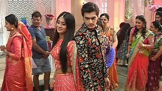 Yeh Rishta Kya Kehlata Hai 9th January 2017 Naira And Kartik Wedding Romance - On Location