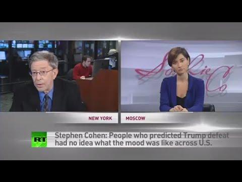 Trump win is no catastrophe it s politics Stephen Cohen