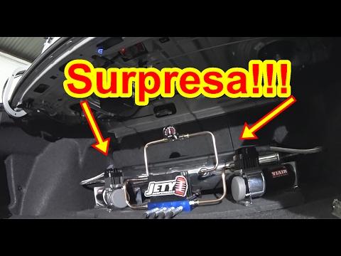 Surpresa ao pegar o Carro CIVIC AR -JETY Suspensões
