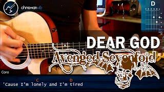 "Cómo tocar ""Dear God"" de Avenged Sevenfold en Guitarra Acústica (HD) Acordes - Christianvib"