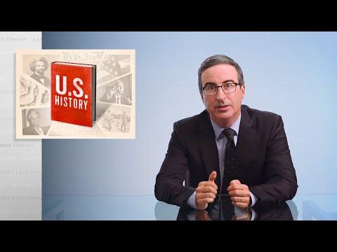 U.S. History Last Week Tonight with John Oliver HBO