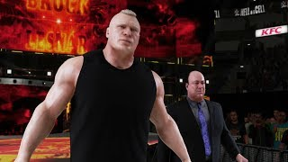 Brock Lesnar Hell In A Cell 2018 Attire - WWE 2K18