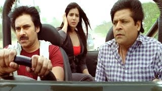 Attarintiki Daredi Comedy Scene || Ali Hilarious Comedy Scene ( Chittoor Travelling) - Pawan Kalyan