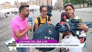 ¿Comodidad o 'postureo'? ¡todo cabe en Bilbao BBK Live!