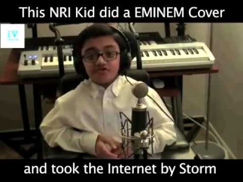 NRI kid EMINEM cover