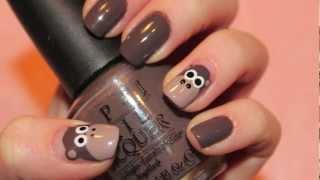 Tutorial: Monkey Nails