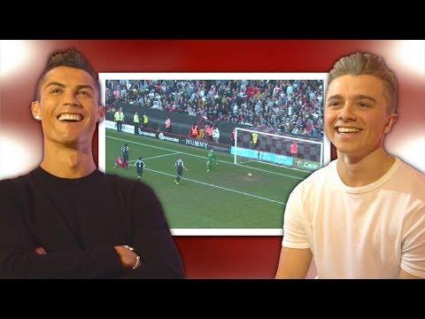 Cristiano Ronaldo Reacts To My Football Videos