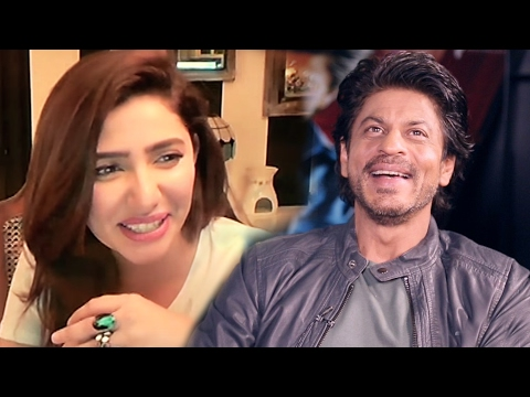 Shahrukh Khan SHARES Funny Moment Of Mahira Khan On Airport - Raees
