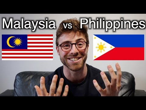 MALAYSIA vs PHILIPPINES Which is BEST for TRAVEL