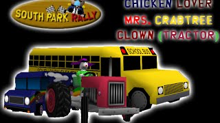 South Park Rally PC MODS: Playing as Mrs. Crabtree/Chickenlover/Tractor