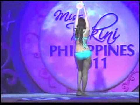 Miss Bikini Philippines 2011 Pre Pageant Night Creative Posing Part 1