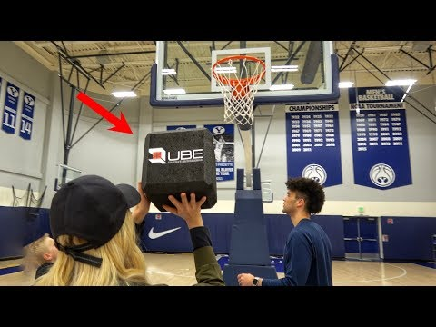 What s inside a SQUARE BASKETBALL