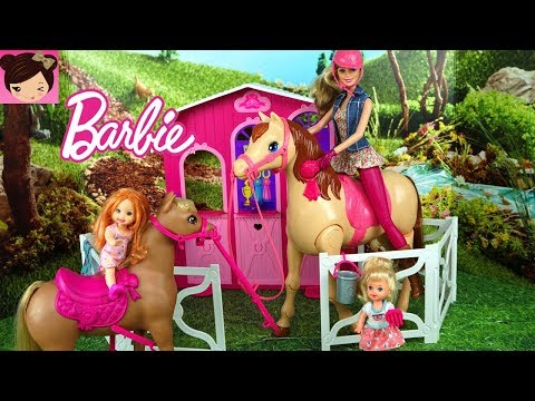 Xxx Mp4 Barbie Morning Routine In Horse Stable With Toddler Elsa And Anna Kids 3gp Sex