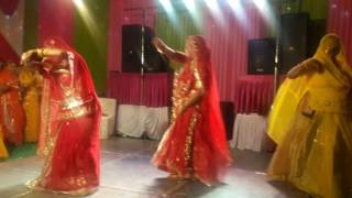 rajsthani dance in royal marriage