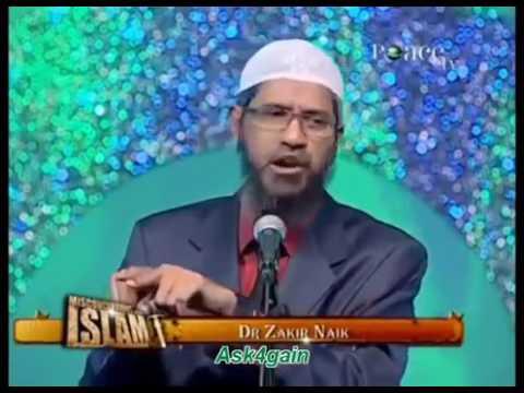 Because I'm Catholic I Am Going To Hell   Dr  Zakir naik 2017