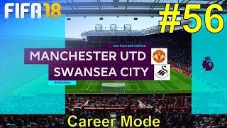 FIFA 18 - Manchester United Career Mode #56: vs. Swansea City