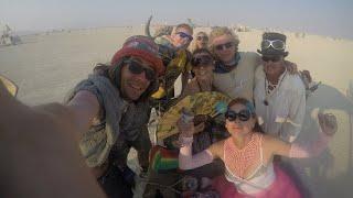 Burning Man 2017, GoPro Unedited Footage, Black Rock City, Nevada Desert