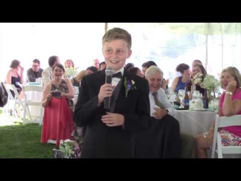 11 year old nephew s funny best man speech