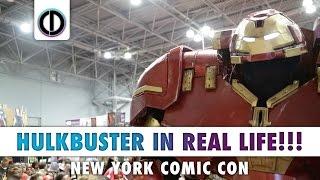 HULKBUSTER IN REAL LIFE!!! (New York Comic Con)