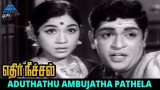 Ethir Neechal Old Movie Song | Aduthathu Ambujatha Video Song | TM Soundararajan | P Susheela