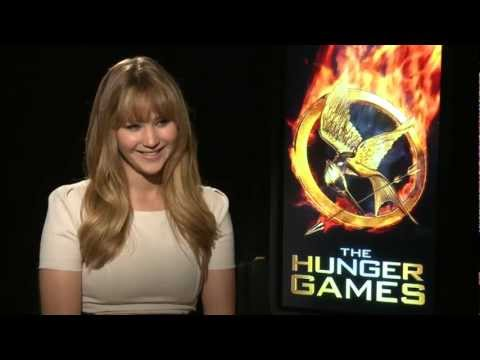 Jennifer Lawrence HUNGER GAMES Interview
