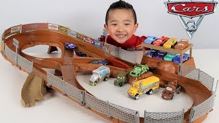 COOLEST Disney Cars 3 Track Set Ever!!  Ckn Toys