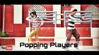 Destroyed Popping 2 || Popping dance by - Popping Players || Karan Michael || Umesh D-dubstron