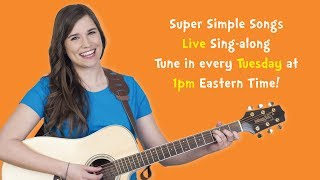 Sing-along live with Caitie! Today YOU vote for which song you want to sing!