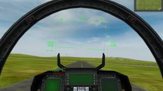 Project Reality: F-15 landing attempt