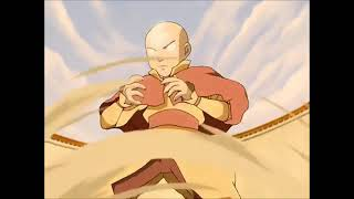 AVATAR: Aang tierra control,  escenas.