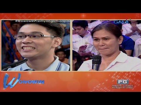 Wowowin: Outstanding beki, hindi alintana ang broken-family sa pag-abot ng pangarap