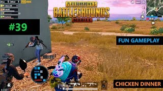 [Hindi] PUBG MOBILE | FUN GAMEPLAY WITH SUBSCRIBERS SQUAD CHICKEN DINNER