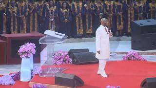 Bishop Oyedepo @ Maximizing the Blessedness of Prayer and Fasting, January 14, 2018 [2nd service]