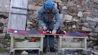 Atomic Shift Touring Binding and Backland 107 Ski Test, Ben Nevis May 2018, version 2
