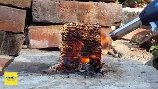 Gas Torch VS 11 Incredible Things - Gas Torch burn something