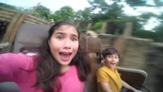 Disney 365 | Ariadna Rides Grizzly Gulch at Hong Kong Disneyland