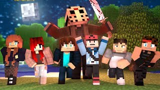 Minecraft Friday The 13th HIDE AND SEEK - JASON IS RIGHT BEHIND YOU! (Minecraft Roleplay)