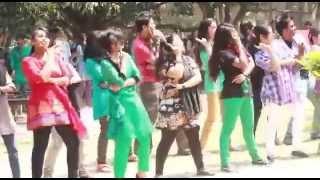 ICC t20 world cup 2014 Flash Mob  English Department Rajshahi University
