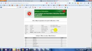 Get Your Own SSC or HSC Results Online All Time