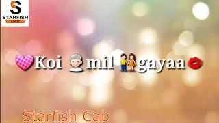 Koi Mil Gaya Title Song   Koi Mil Gaya 2003   Hrithik Roshan, Preity Zinta By Starfish Cab