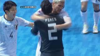 Uzbekistan 2-4 Japan (AFC Futsal Championship 2018: Group Stage)